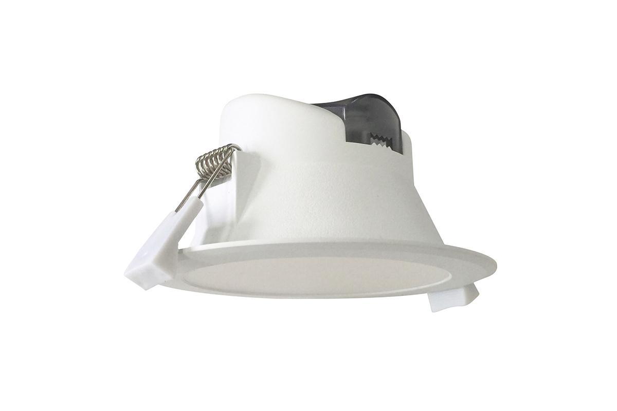 LED Einbaustrahler CCT 7W Ø95mm 90° weiß dimmbar