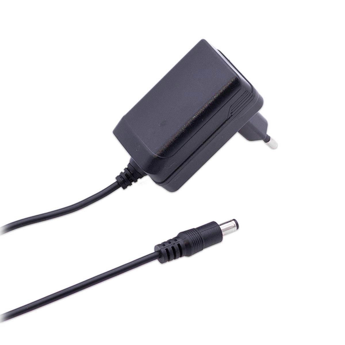 Steckernetzteil 24W 12V 2A Hohlstecker 5.5/2.1mm EU-Plug Festspannung