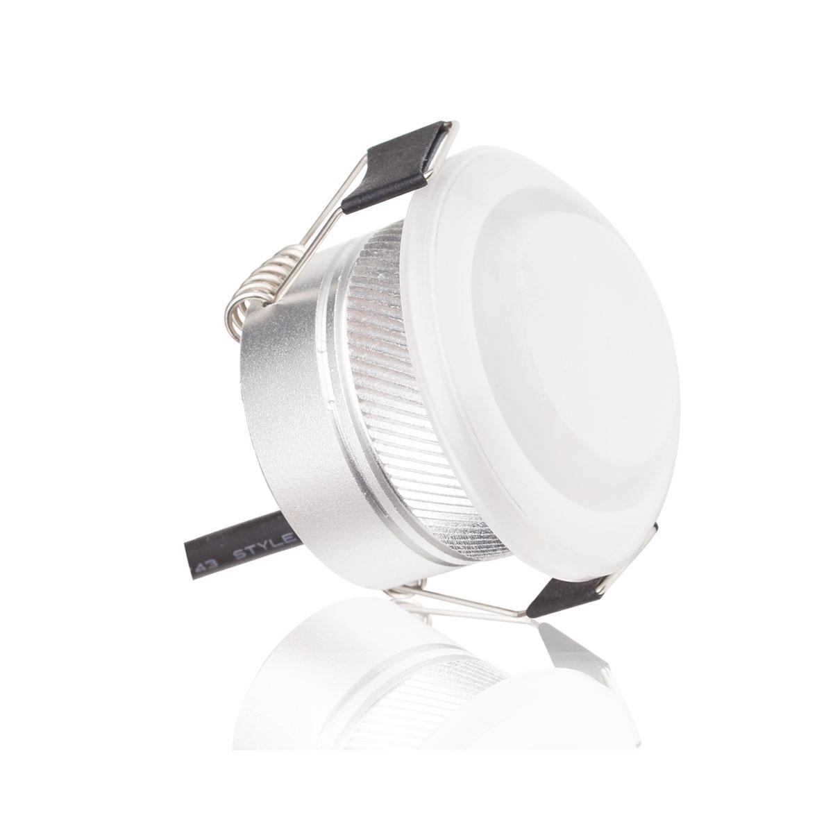 LED Minispot-Einbaustrahler 12V 3W RGB+W 3000K