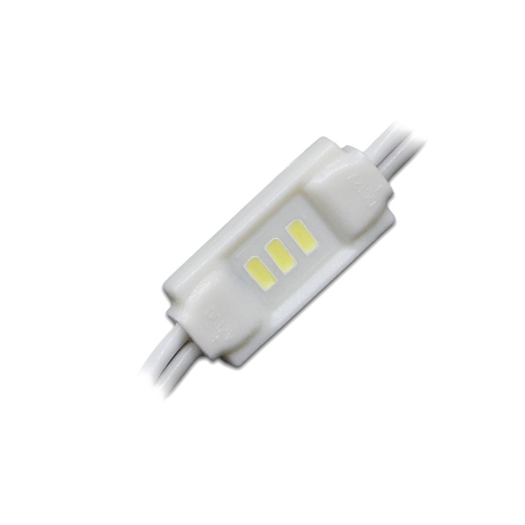 LED 3er Mini Modul 0,3W 12V 6500K 120°