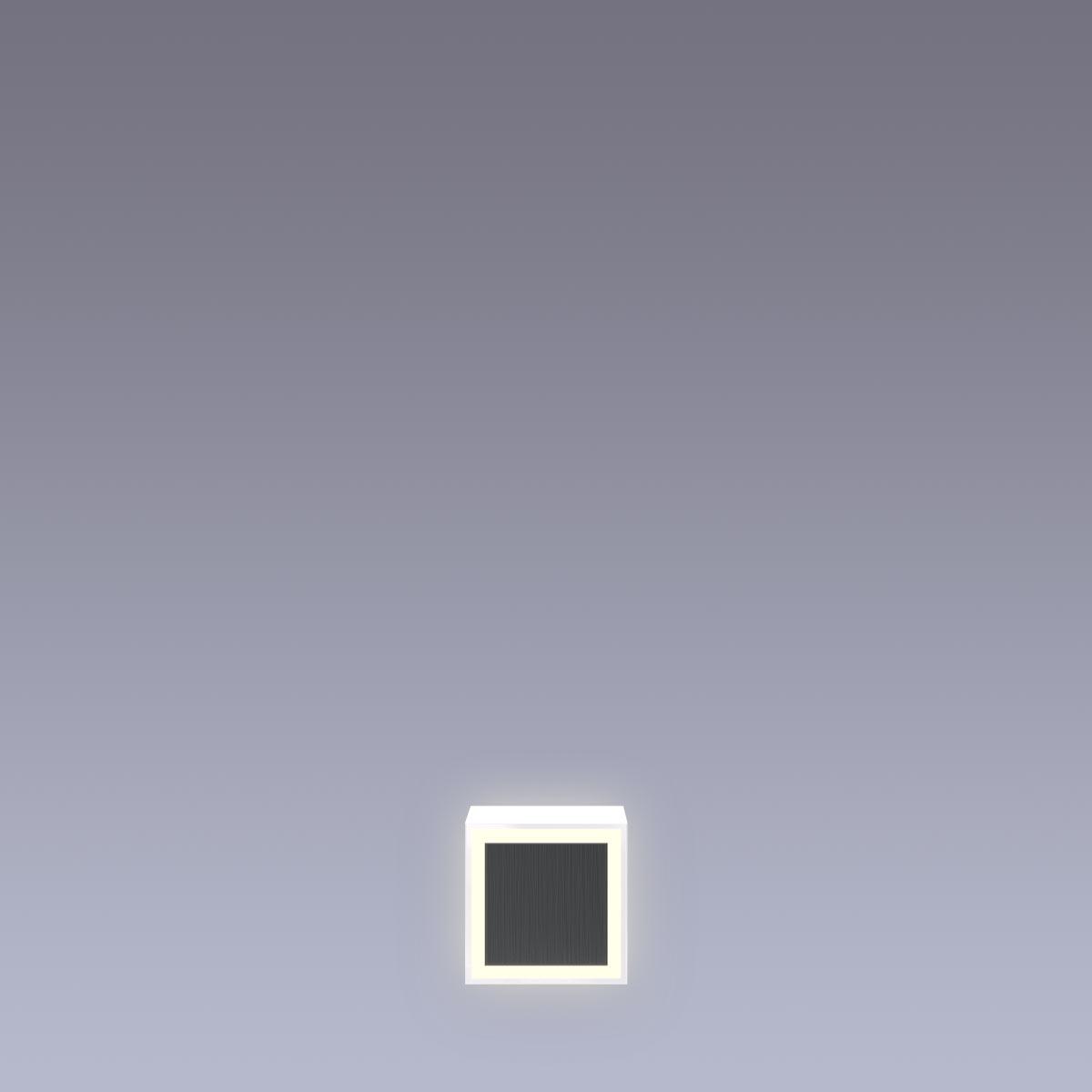 Cover für 15cm Hausnummer . Punkt Edelstahl anthrazit RAL7016 Arial selbstklebend