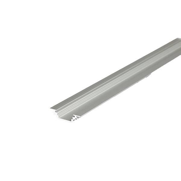 Alu Eck-Profil eloxiert 17,8x17,8mm opal 200cm