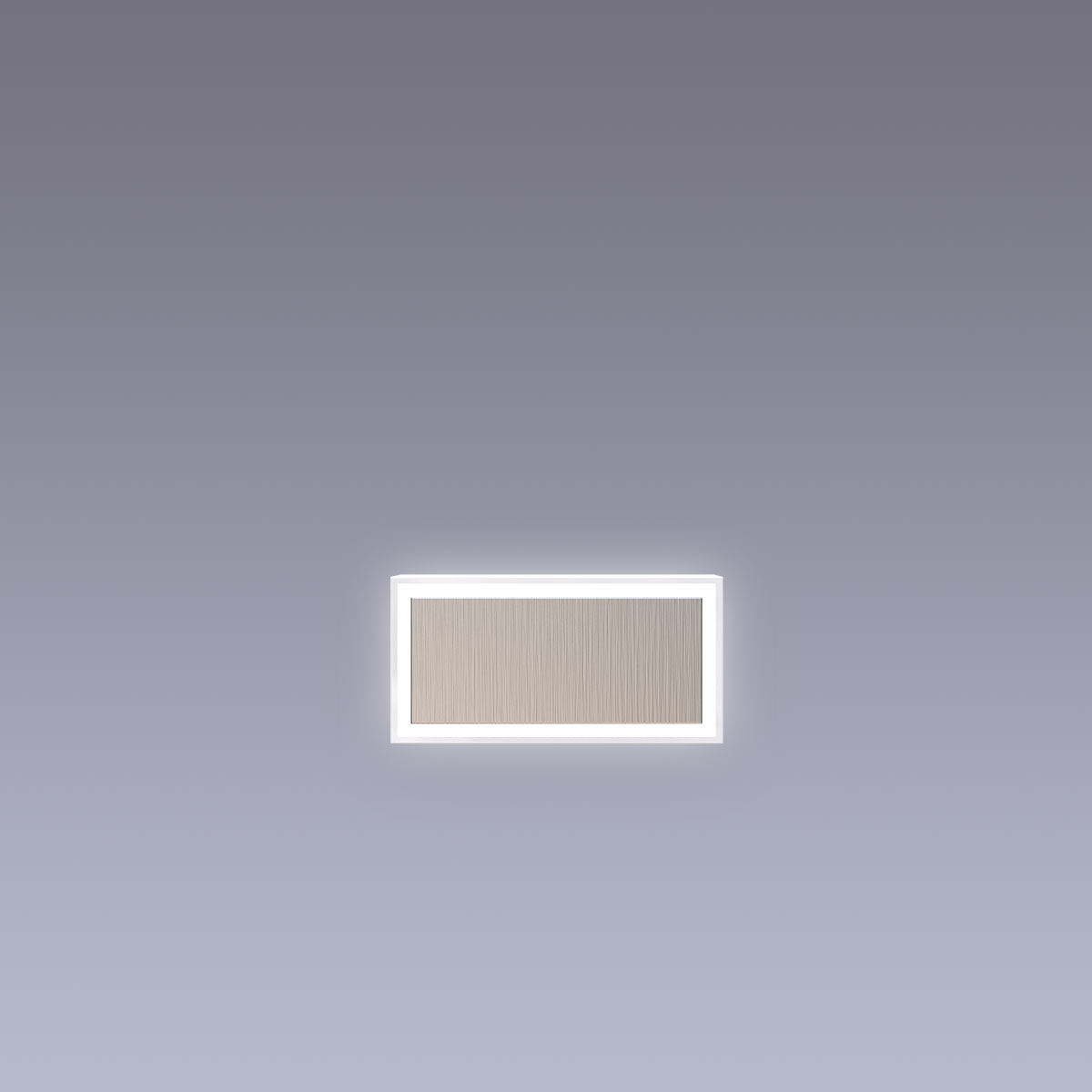 Cover für 15cm Hausnummer - Bindestrich Edelstahl Arial selbstklebend