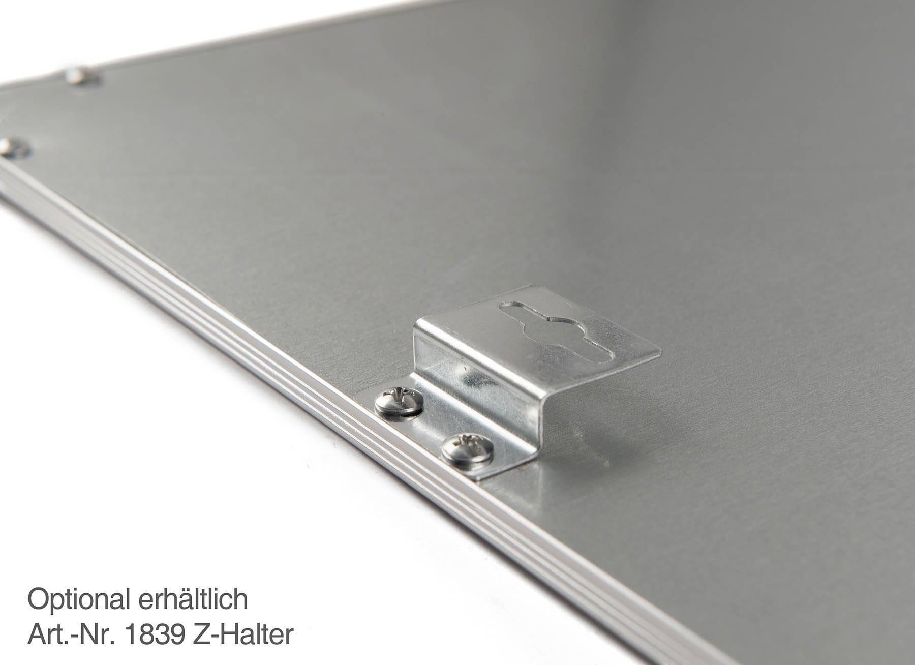 RGB+CCT LED Panel Pro 62x62cm 48W 24V Rahmen weiß