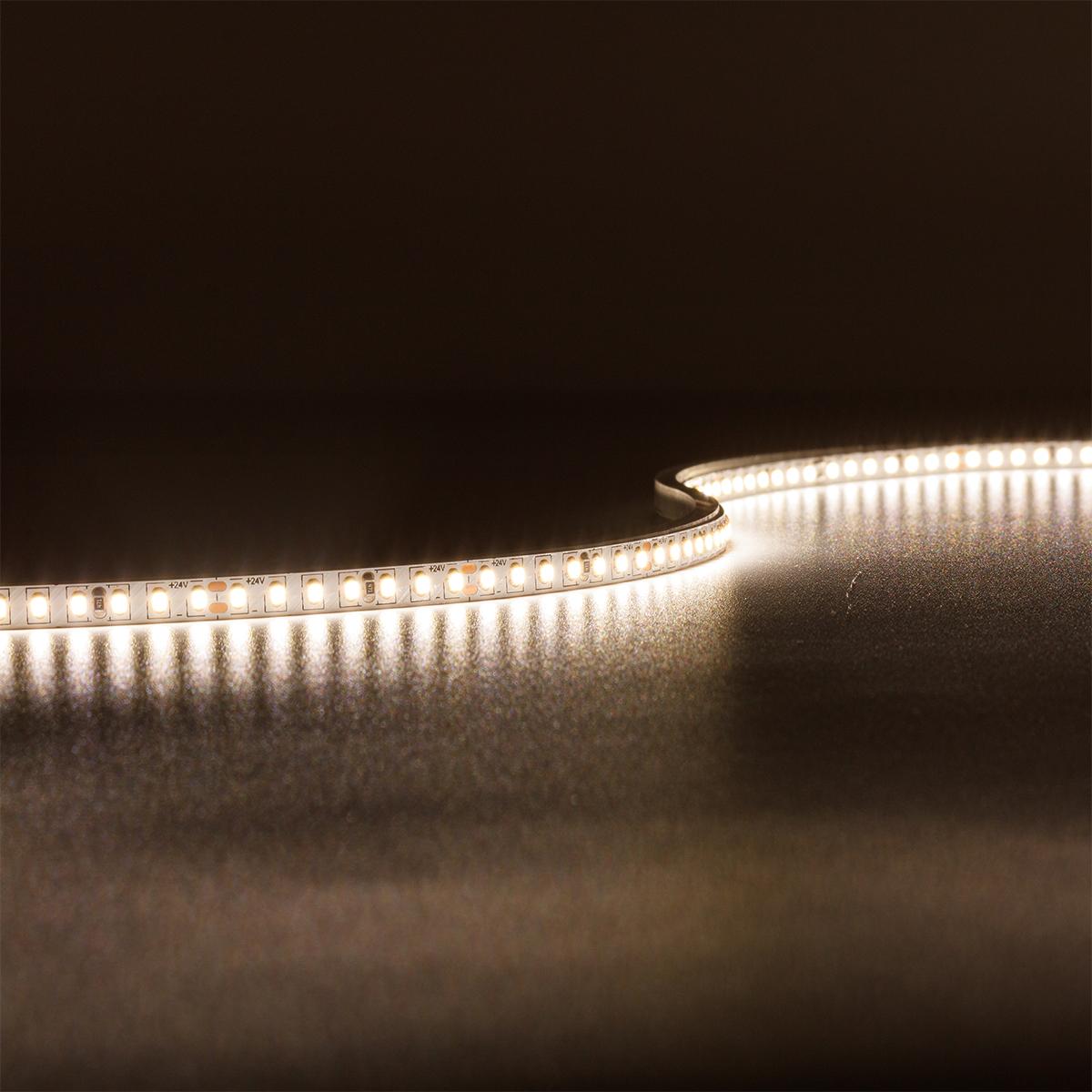 Strip Neutralweiß 24V LED Streifen 5M 8W/m 224LED/m 5mm IP20 4000K