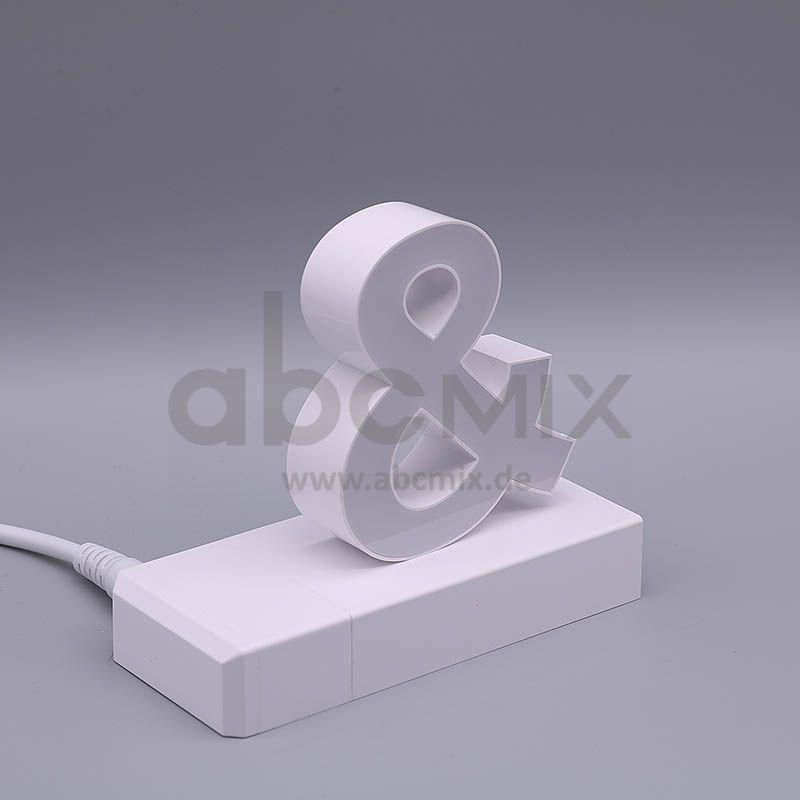 LED Buchstabe Click kaufmännisches Und-Zeichen & für 75mm